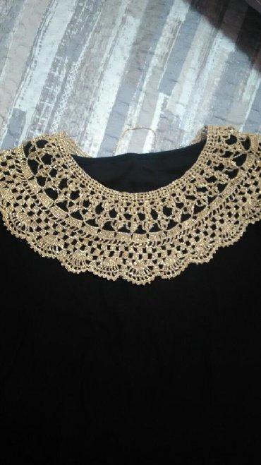 Haljinica sifra - Srbija: Heklane kragneukrasni dodatak na haljinibluziboja zlata