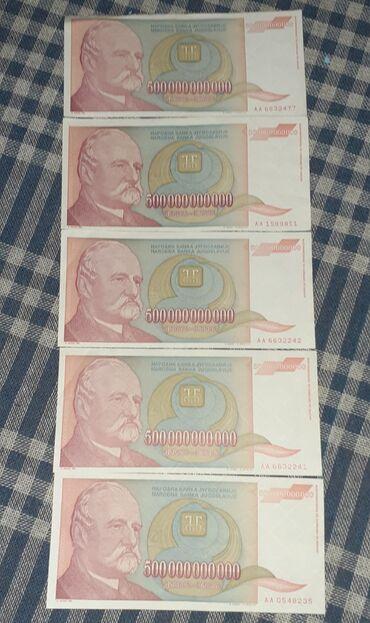 Banknote - Kula: Savrseno ocuvane novcanice, kao da su sad stampane, nisu presavijane