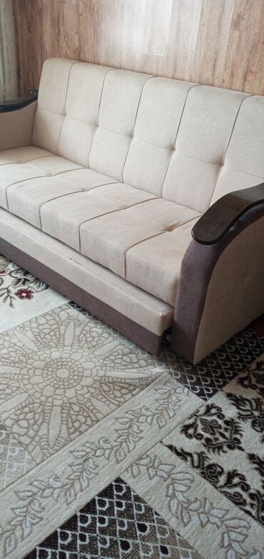 продам кресло кровать in Кыргызстан | ДИВАНЫ: Продаю диван-кровать, два кресла. Прошу 23000 сом
