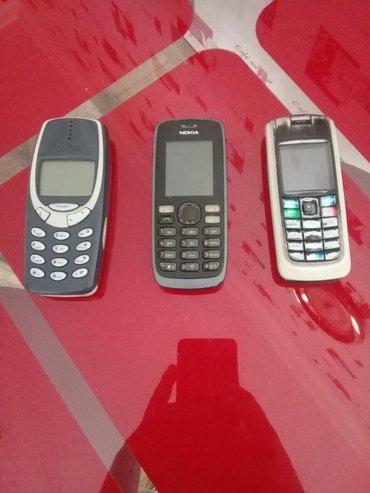 Bakı şəhərində Nokia telefonlari 3eded. Zapcas kimi satiram. 3u 25azn. Heresinin cuzi
