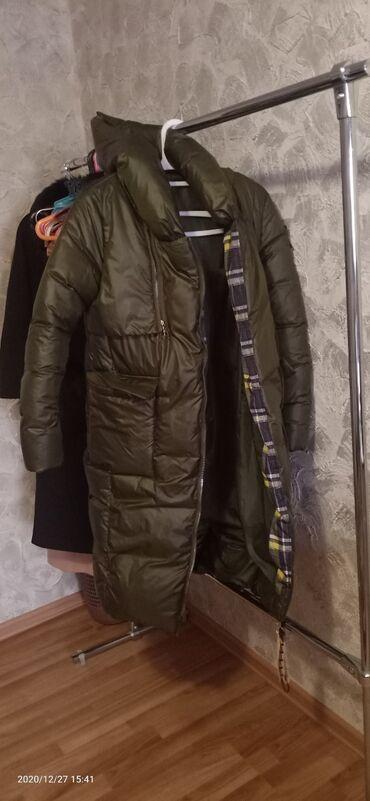 Совершенно новый пуховик, куртка на зиму. С большим капюшоном. Причина
