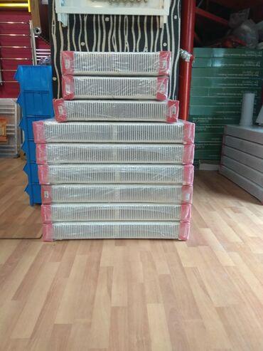 Panel radiatorlar. 1metr = 72 azn başlayan qiymətlərlə. Yerli və Türk
