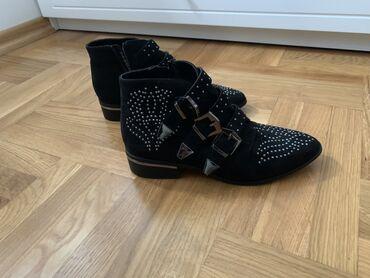 Catwalk crno srebrne cipele, broj 39, gaziste 26cm,NOVO. Bukvalno nove