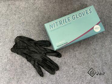 Нитриловые перчатки - Кыргызстан: Перчатки Нитрил В упаковке 100 штук - 50 пар.  Размены S, M, L, XL.  В