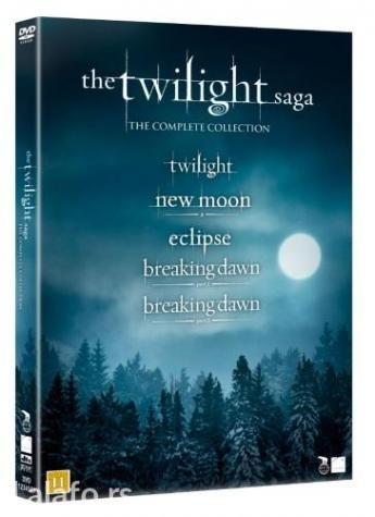 Sumrak saga [the twilight saga] kolekcija - 5 filma - Boljevac