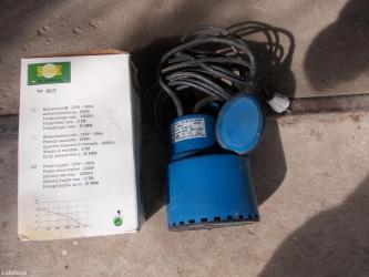 Prodajem novu nekorišćenu pumpu za vodu,potapajuća. Specifikacija