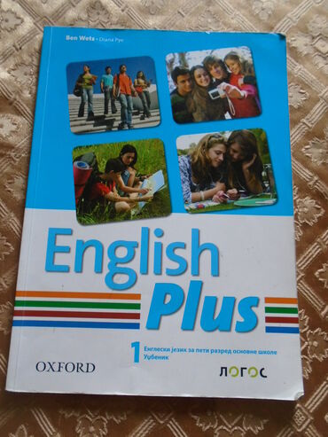 Engleski jezik za 5. razred Osnovne škole, udžbenik, izdavač Logos