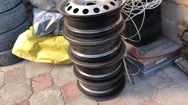 alfa romeo mito 14 мт в Кыргызстан: Продаю металлические диски  Матиз,нексия,гольф,венто