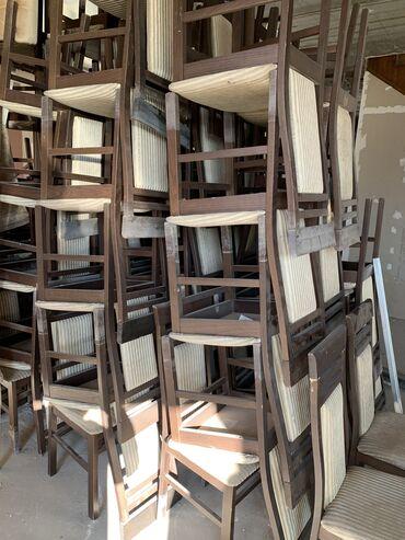 стул для компьютера в Кыргызстан: Продам белорусские стулья «Викинг» 100% массив дуба. Фасадная часть и