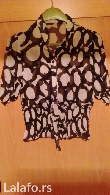 Nova košulja od providnog materijala, tri četvrt rukavi, veličina 38 - Vrnjacka Banja