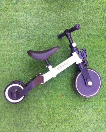 Беговел - трехколёсный велосипед. От 1,5 до 3-4 лет. Новый