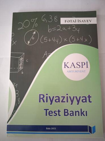 10147 elan | KITABLAR, JURNALLAR, CD, DVD: Riyaziyyat Test bankı Kaspi Yeni 2021