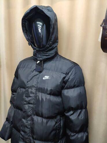 Удлиненная Зимняя Куртка NIKE 🔥🔥🔥 все размеры в наличии по супер цене