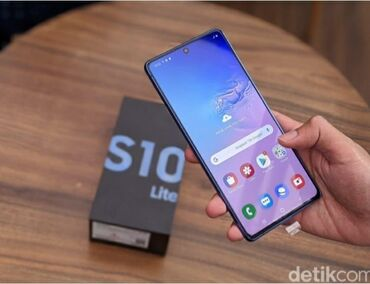 Новый Samsung Galaxy S10 Lite 128 ГБ Черный