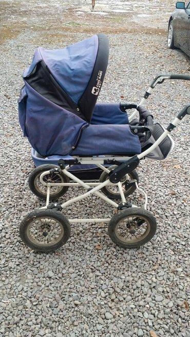 Очень удобная,железная коляска. 3 в 1 в Беловодское