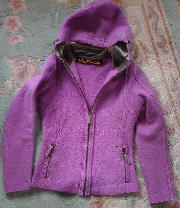 Dzemper vuna - Srbija: FRAUENCHUH original ski jakna ili dzemper, ljubicasta, 100% merino