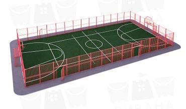 Универсальная спортивная площадка в Бишкек