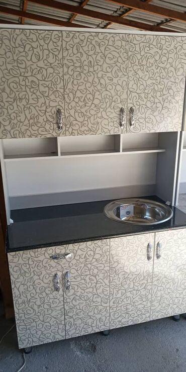 Новый кухонный гарнитур размер 120см цена:8500 +доставка по городу