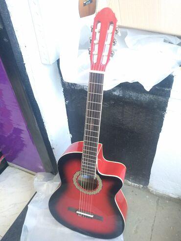 gitara klassik - Azərbaycan: Klassik gitara 4 4 olcude teze pakofqada