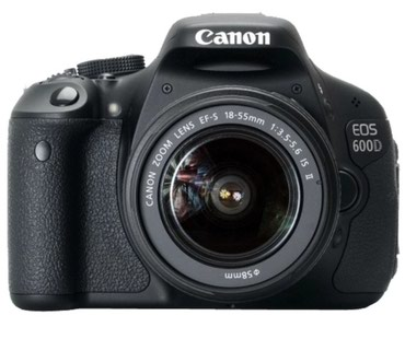 Продаю фотоаппарат canon 600d с объективом canon 18-55 в Бишкек