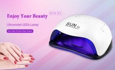 Exte naocare za sunce - Srbija: Uv led lampa za nokte Sun X5 Novi Model Uv led lampa za nokte Sun X5