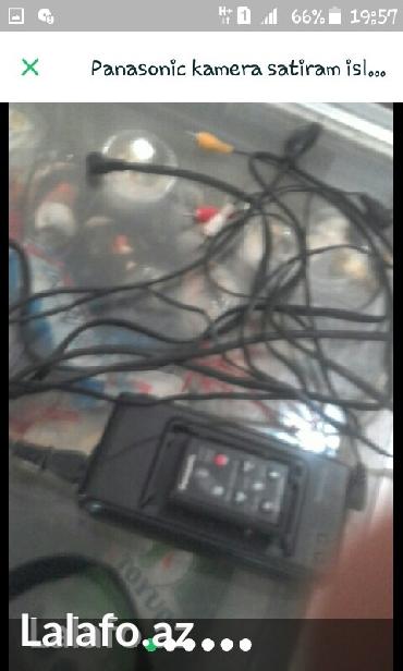 Bakı şəhərində Panasonic kamera satiram islek veziyyetdedi hec bir problemi yoxdu tek