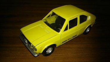 RARITET ! ! ! Metalni modeli automobila italijanskog Polistila i - Belgrade