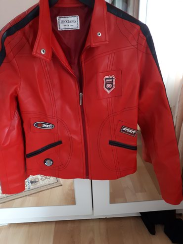Ocuvana jaknica od skaja M vel.. Na nekim mestima ima malo ispucane - Jagodina