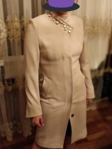 Кашемировое пальто! Новое!!! Очень красивое! Размер 40-42 в Кант