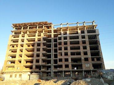Срочно продаю 3 комнатную  квартиру площадью  96. 9 м\кв в строящемся в Бишкеке
