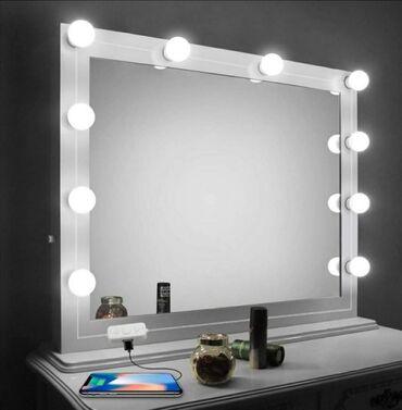 Led dekorativne lampe za ogledalo Holivud stil. Napravite vase