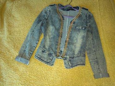 Куртка джинсовая. Размер 46-48. Почти новая.  в Кара-Балта