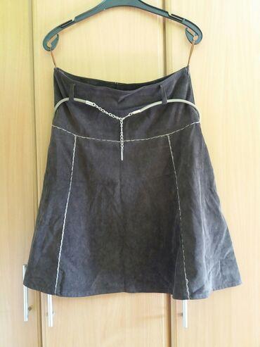 Somotska suknja Lifeflowers XL  Suknja za jesen/zimu od sitnog somota
