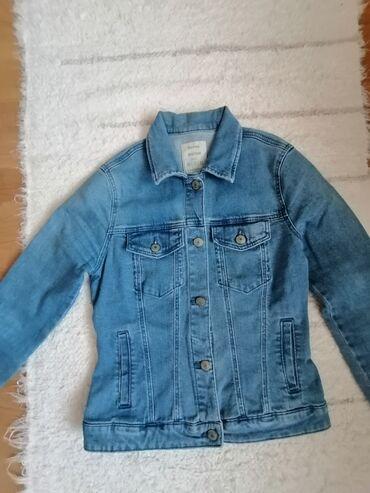 Bershka bluza - Srbija: Bershka teksas jakna, xs veličina ali odgovara i s
