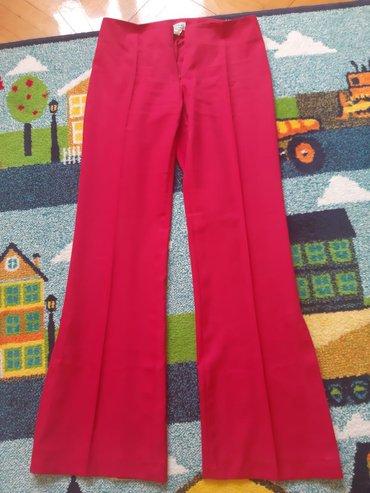 Bez pantalone broj - Srbija: Original HAPPENING pantalone,broj 40, na crtu, bez džepova, zvonastog