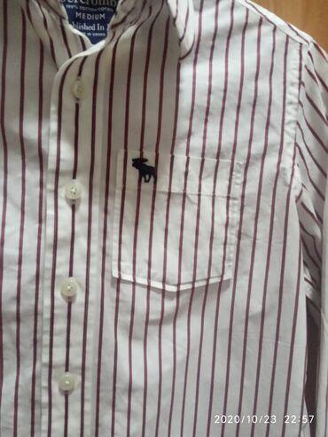 Рубашка Abercrombie MADE IN CHINA 100%