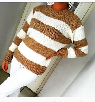 Džemper divna premekana trikotaža Vel S M Novo