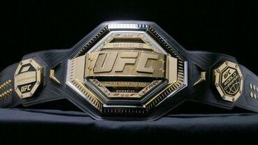 10516 объявлений: Чемпионский пояс UFC (реплика).В середине пояса вы можете