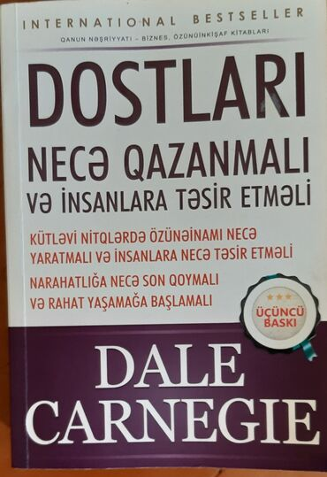 İdman və hobbi Hacıqabulda: Karnigenin kitabi 12 maanat qiymete gore narahat etmeyin sondu