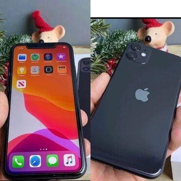 айфон 11 цена в бишкеке в Кыргызстан: IPhone 11 64 ГБ Черный