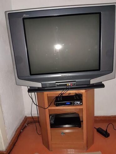audi 100 18 мт - Azərbaycan: Tv+altligi satilir. Televizor islek veziyyetdedi. Ikisi bir yerde 100
