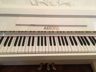 qala konstruktorları - Azərbaycan: Pianino АККОРД RUSİYA stehsalı. Əla vəziyyədədi. Cadırılma və köklənmə