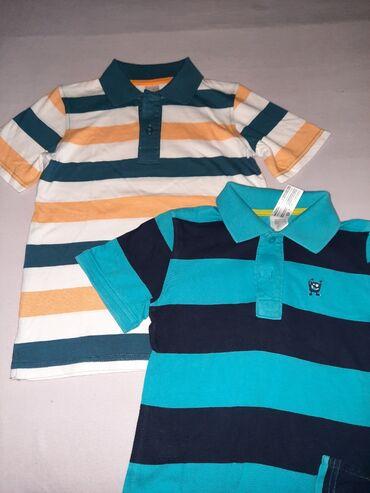Pamucne majice - Srbija: Pamucne majice sa kragnom Vel 122, 128