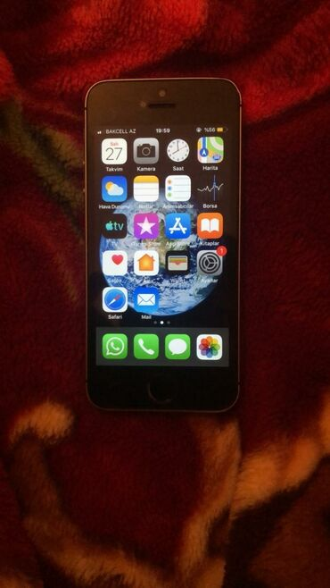 İşlənmiş iPhone 5s 16 GB Boz (Space Gray)