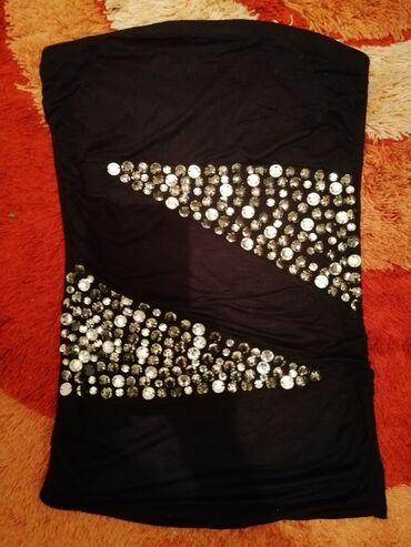 Extra bluza sa kristalima. Nova,fantasticna. Vel M,L Made in Italy
