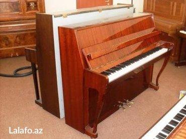 Bakı şəhərində Pianoların satışı, alışı, daşınması, köklenmesi ve istenilen renge
