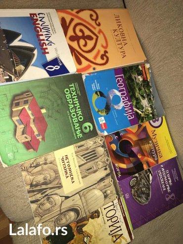 Knjige od i - viii razreda, od raznih izdavaca ( logos, klet, zavod, b - Kraljevo