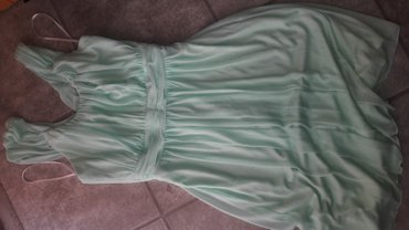 Haljina-boje - Srbija: Elegantna haljina mint boje