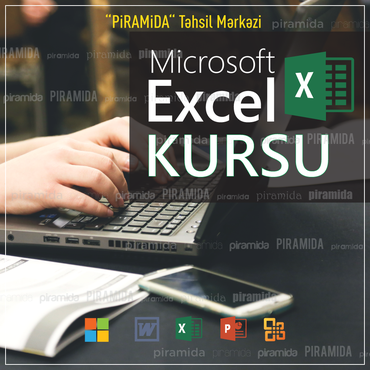 Bakı şəhərində Microsoft Excel kurslarıİşləmək istədiyin sahə səndən elektron