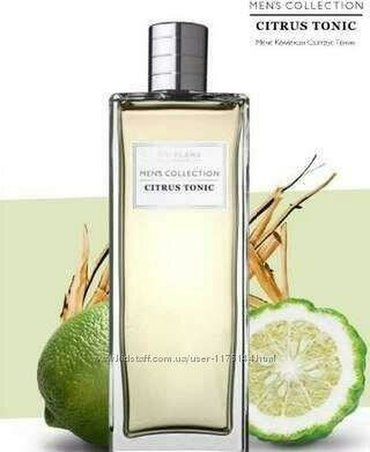 Etir Citrus Tonic, 75ml. Oriflame